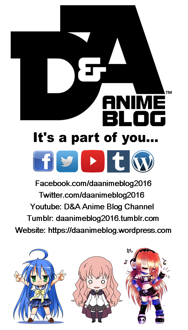 D&A Anime Blog (Business Card)