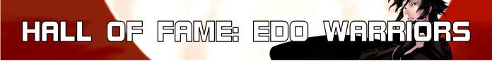 Hall Of Fame (Edo Warriors) Button