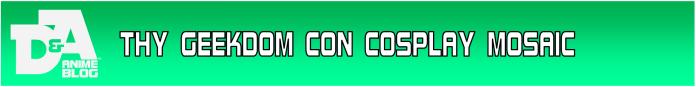 Thy Geekdom Con Cosplay Mosaic Button